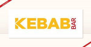 Logo design for Kebab Bar, created by Navazon Digital.