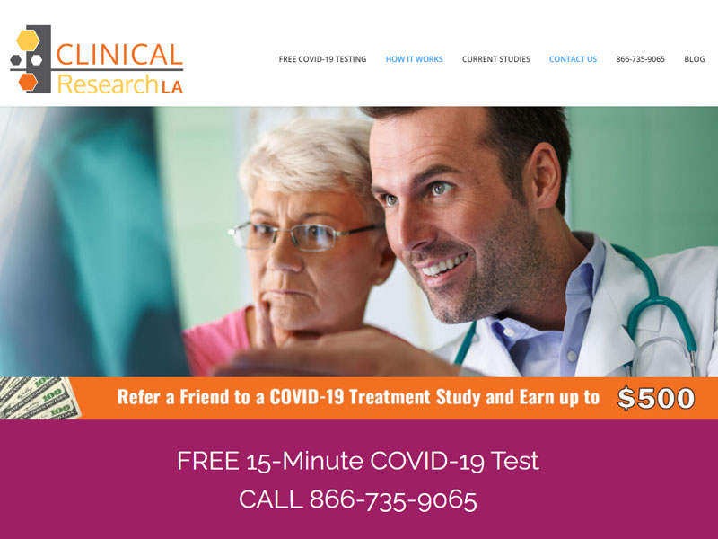 Clinical Research LA Portfolio Image