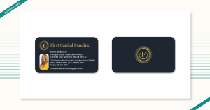 first capital funding business cards